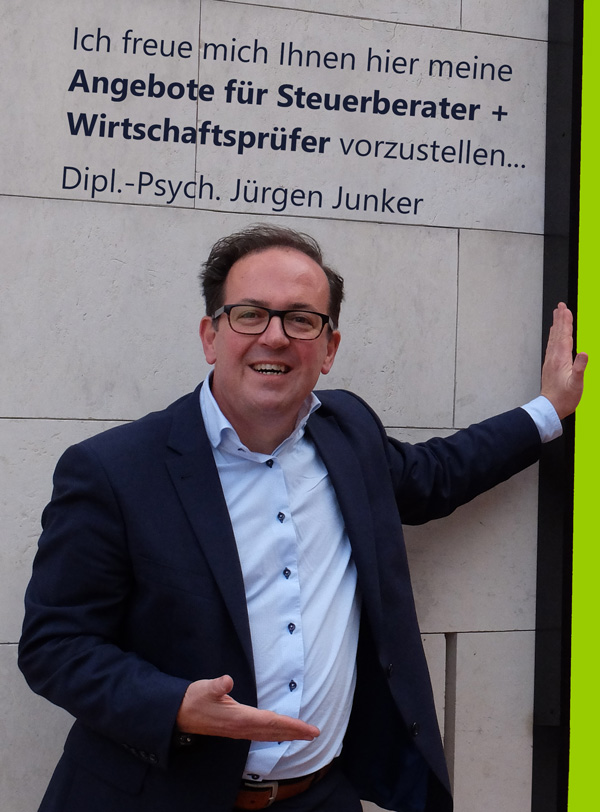 Coaching, Seminare, Workshops und firmeninterne Trainings für Steuerberater und Wirtschaftsprüfer, Dipl.-Psych. Jürgen Junker, MTO-Consulting, Mensch, Team, Organisation Psychologie, Seminare, Trainings